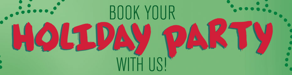 Book your holiday event with us!
